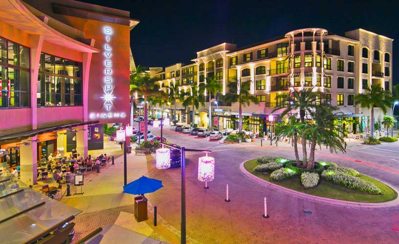Mercato Shopping Center at Night - Naples, Florida