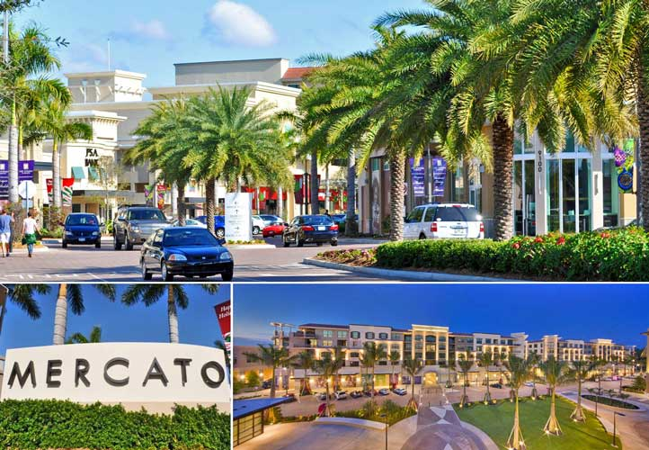 Mercato Shopping Center - Naples, Florida