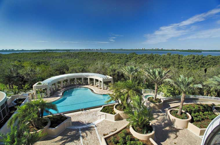 Azure Pool Deck - Bonita Springs, Florida