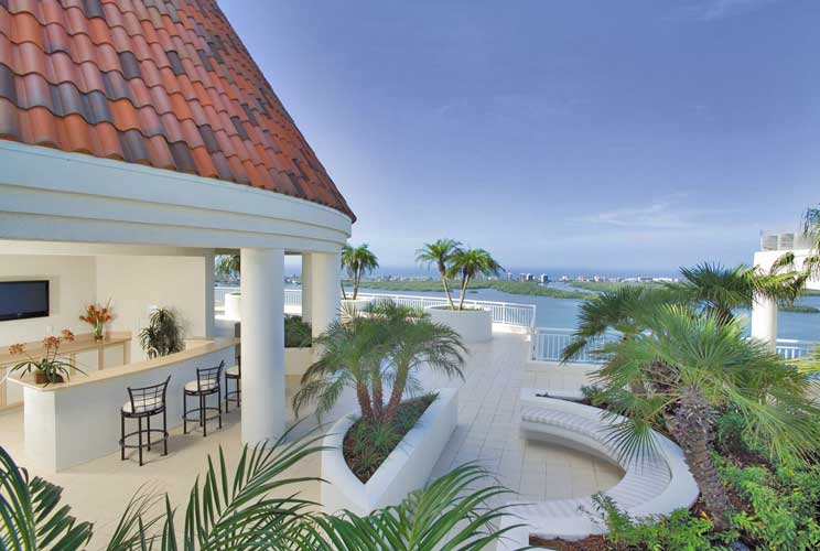 Azure Roof Deck Terrace - Bonita Springs, Florida