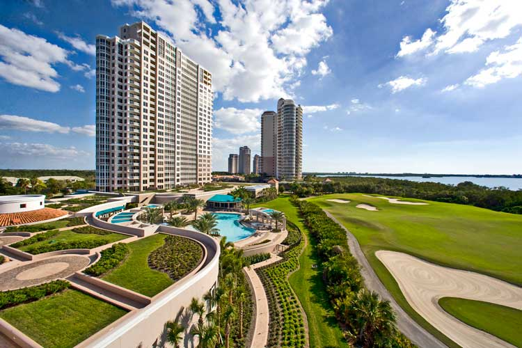 Esperia Commons with Pool and South Tower - Bonita Springs, Florida
