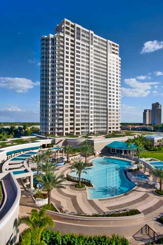 Esperia Commons Pool Deck and South Tower- Bonita Springs, Florida