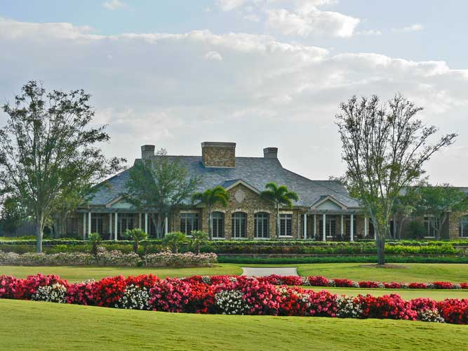 The Ritz Carlton Golf Course Clubhouse - Sarasota, Florida
