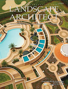 Landscape Architect Magazine Cover